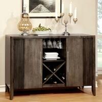 Furniture of America Mariselle Grey Dining Server