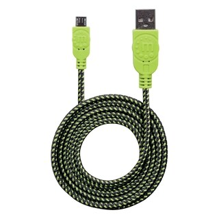 Manhattan Hi-Speed USB 2.0 A Male to Micro-B Male Braided Cable, 1.8