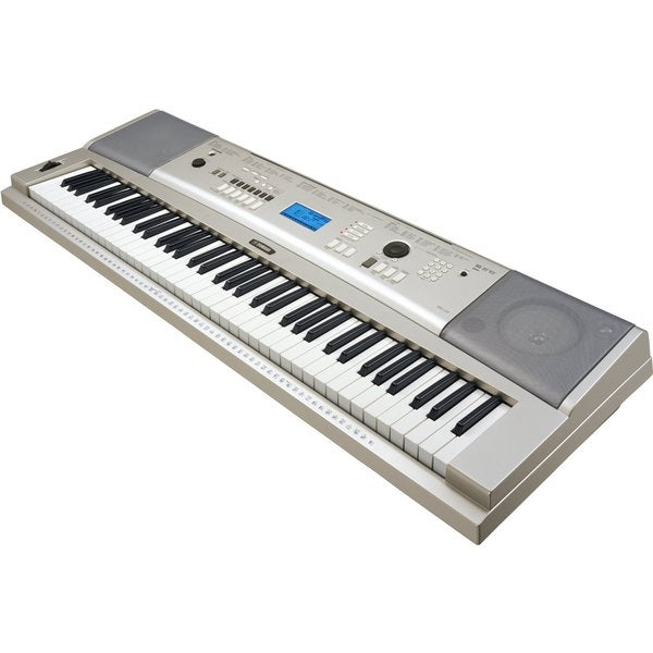 shop yamaha ypg 235 76 key portable keyboard free shipping today overstock 9928634. Black Bedroom Furniture Sets. Home Design Ideas