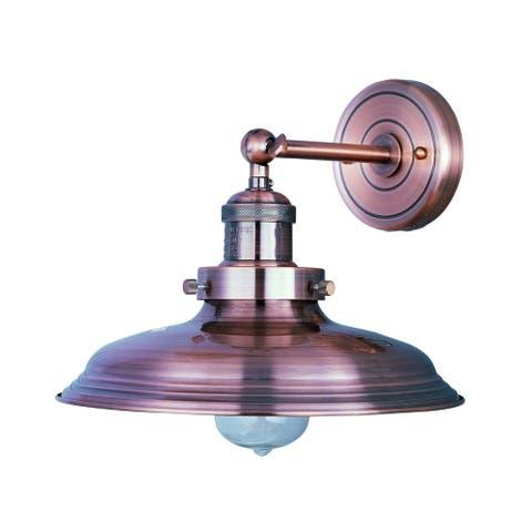 Maxim Mini Hi-bay Copper 1-light Wall Sconce