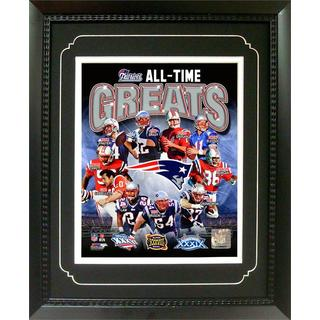 New England Patriots All-time Greats Deluxe Frame