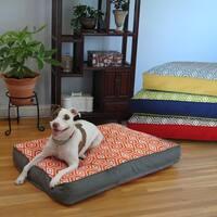 Water Repellent Reversible Memory Foam Topper Pet Bed