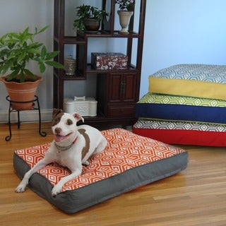 Water Repellent Reversible Memory Foam Topper Pet Bed