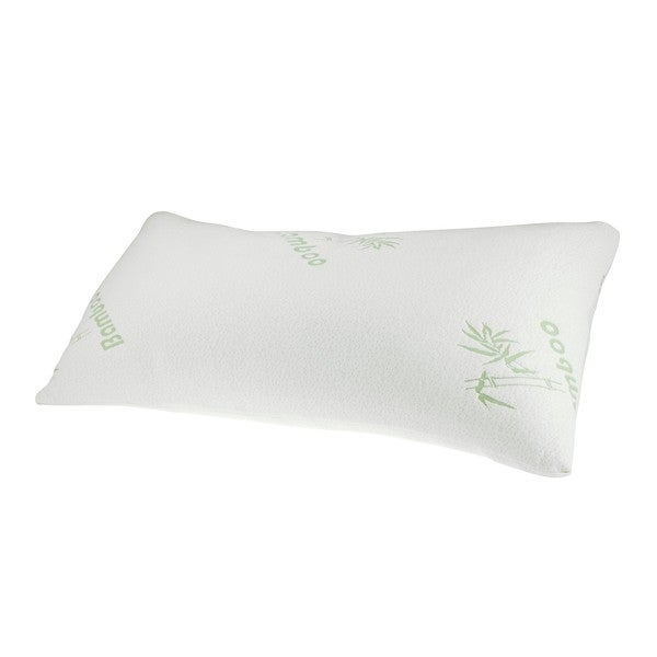pchlife rayon from bamboo shredded memory foam pillow
