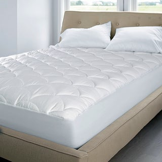 OSleep Premier 350 Thread Count Cotton Damask Waterproof Mattress Pad