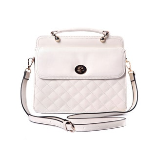 Quilted Festival Faux Leather Handbag