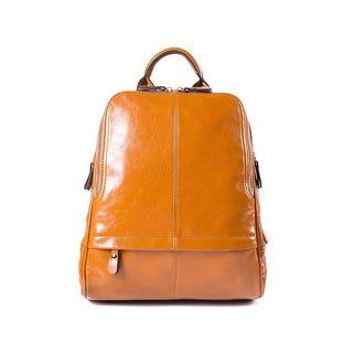 Faux Leather Backpack Handbag