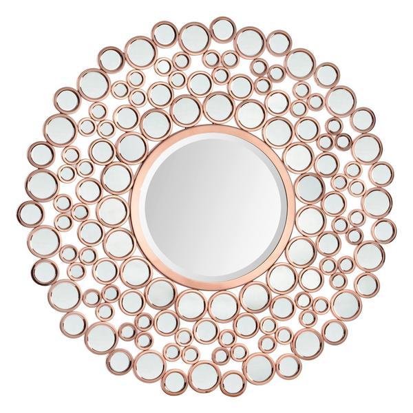 Shop Ren Wil Renwil Celeste Ii Round Glass Mirror