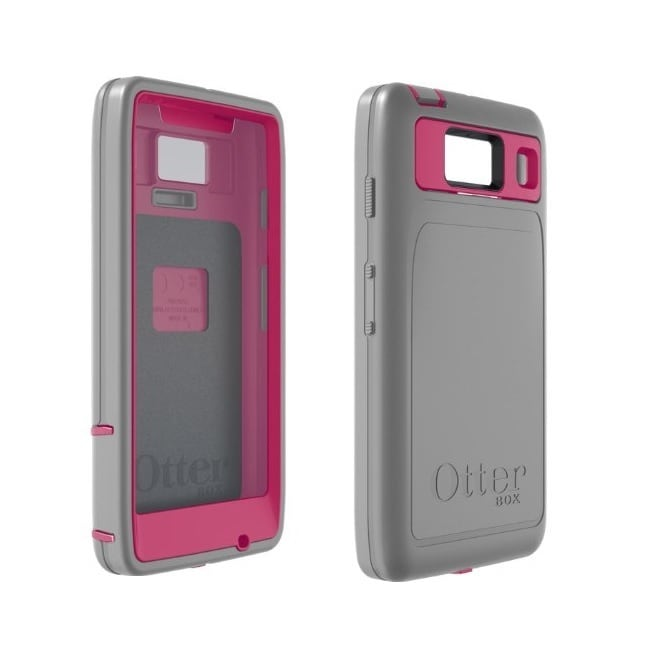 Otterbox Defender Series Case for Motorola Razr HD (Pink/...