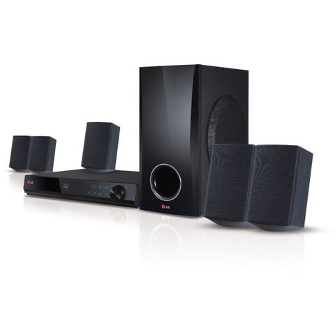 LG 500W 5.1 Channel 3D Blu-ray Home Theater System with Smart TV