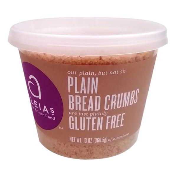 Aleia's Gluten-free Plain Bread Crumbs (2 Pack)