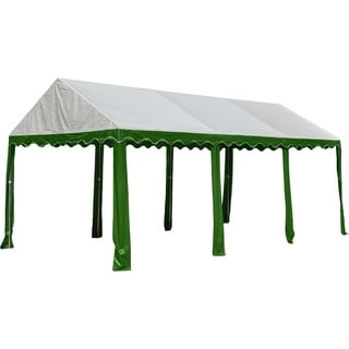 ShelterLogic Model 25889 8-leg Galvanized Steel Frame Green/ White Party Tent (10' x 20')