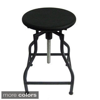 Bristol Retro Steel Rotating Adjustable Height Barstool (Set of 2)