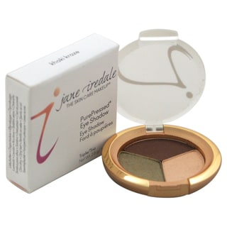 Jane Iredale Purepressed Khaki Kraze Triple Eye Shadow