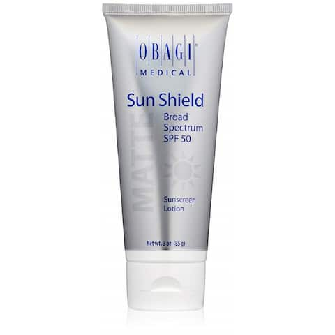 Obagi Sun Shield Broad Spectrum 3-ounce SPF 50 Matte Sunscreen Lotion