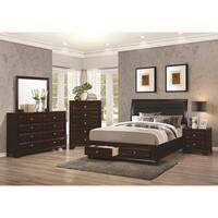 Copper Grove Mollice 4 Piece Cappuccino Bedroom Collection