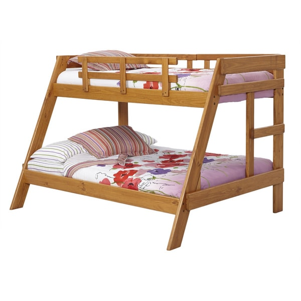 woodcrest woodcrest classic heartland twin over full youth bunk