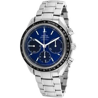 Omega Men's O32630405003001 Speedmaster Round Silvertone Bracelet Watch