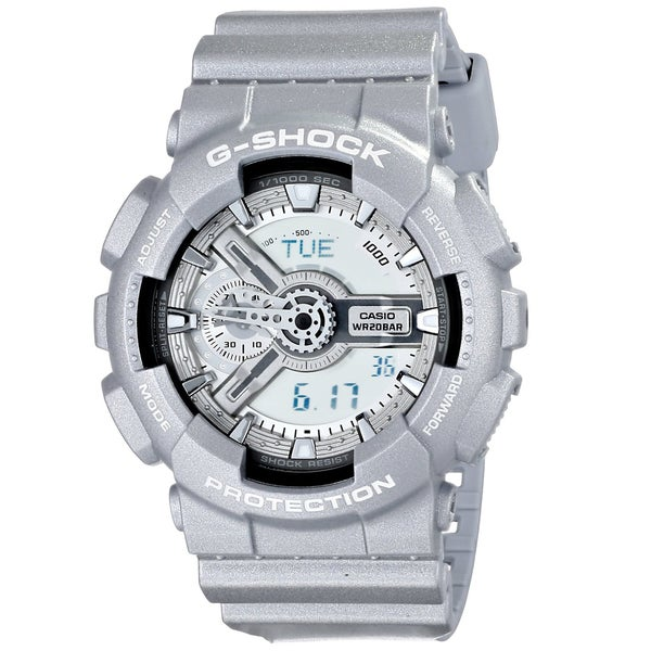 b67205286 Shop G-SHOCK Men's GA110 G-Shock x Baby G Pair Watch, Grey/Silver - Free  Shipping Today - Overstock - 9930208