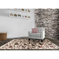 LYKE Home Hazel Grey Area Rug - 8' x 11'