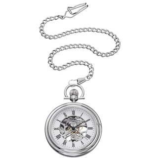 Stuhrling Original Men's Mechanical Vintage Pocket Watch