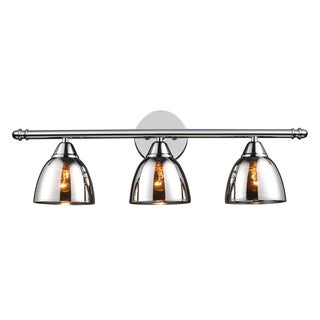 Polished Chrome Reflections 3-Light Vanity