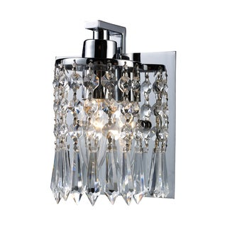 Polished Chrome Optix 1-Light Vanity