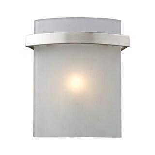 Satin Nickel Briston 1-Light Vanity