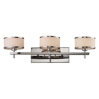 Polished Chrome Utica 3-Light Bath