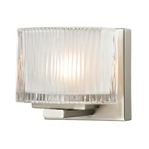 Chiseled Glass Collection 1-Light bath