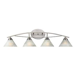 Satin Nickel Elysburg Collection 4-Light Vanity