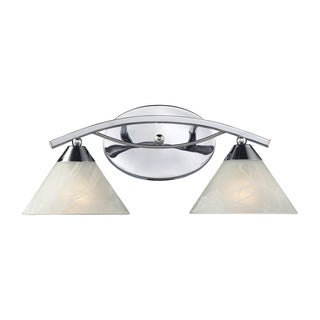 Polished Chrome Elysburg Collection 2-Light Vanity