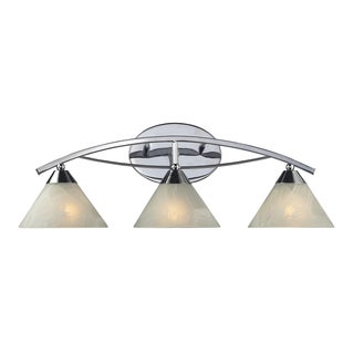 Polished Chrome Elysburg Collection 3-Light Vanity