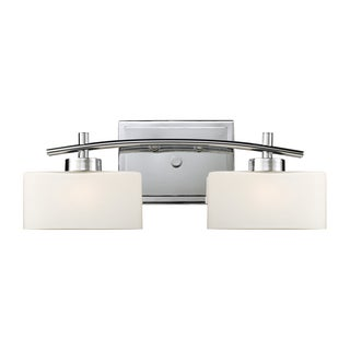Polished Chrome Eastbrook Collection 2-Light Vanity