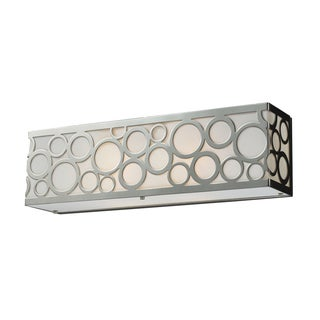Polished Nickel Retrovia Collection 2-Light Vanity