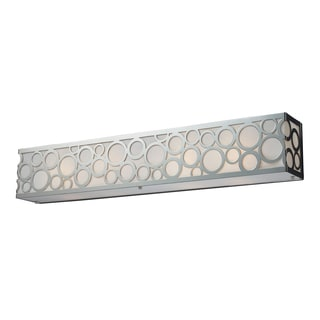 Polished Nickel Retrovia Collection 4-Light Vanity