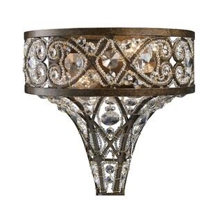 Antique Bronze Amherst 2-Light Sconce