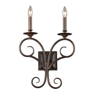 Antique Bronze Gloucester Collection 2-Light Sconce