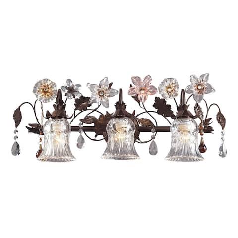 Cristallo Fiore 3-Light Vanity
