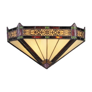Aged Bronze Filigree Collection 2-Light Sconce