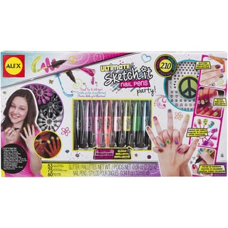 Ultimate Sketch It Nail Pens Party Kit-