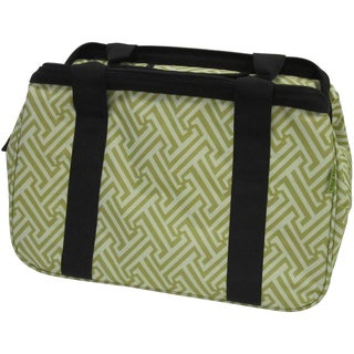 "Janetbasket Green T Eco Bag-18""X10""X12"""
