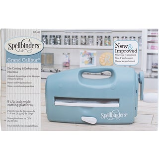 Spellbinders Grand Calibur Cut & Emboss Machine-Teal
