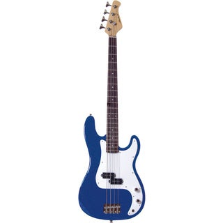 Archer SB10 P-style Blue Electric Bass Guitar