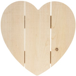 "Rustic Heart 14""X14""-"