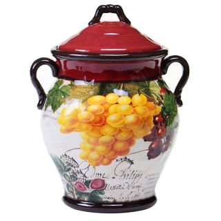 Botanical Fruit Biscotti Jar