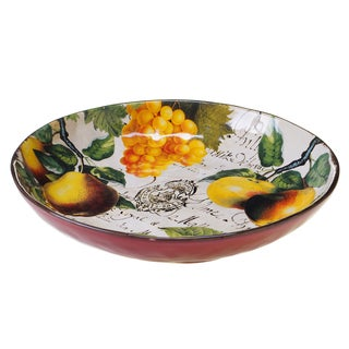 Botanical Fruit Pasta/ Serving Bowl