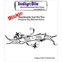 """IndigoBlu Cling Mounted Stamp 3""""X3""""-Handmade Just For You"""