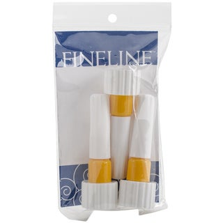 "Fineline Applicators 20 Gauge .5"" Dispensing Tip 3/Pkg-18/410 Cap"