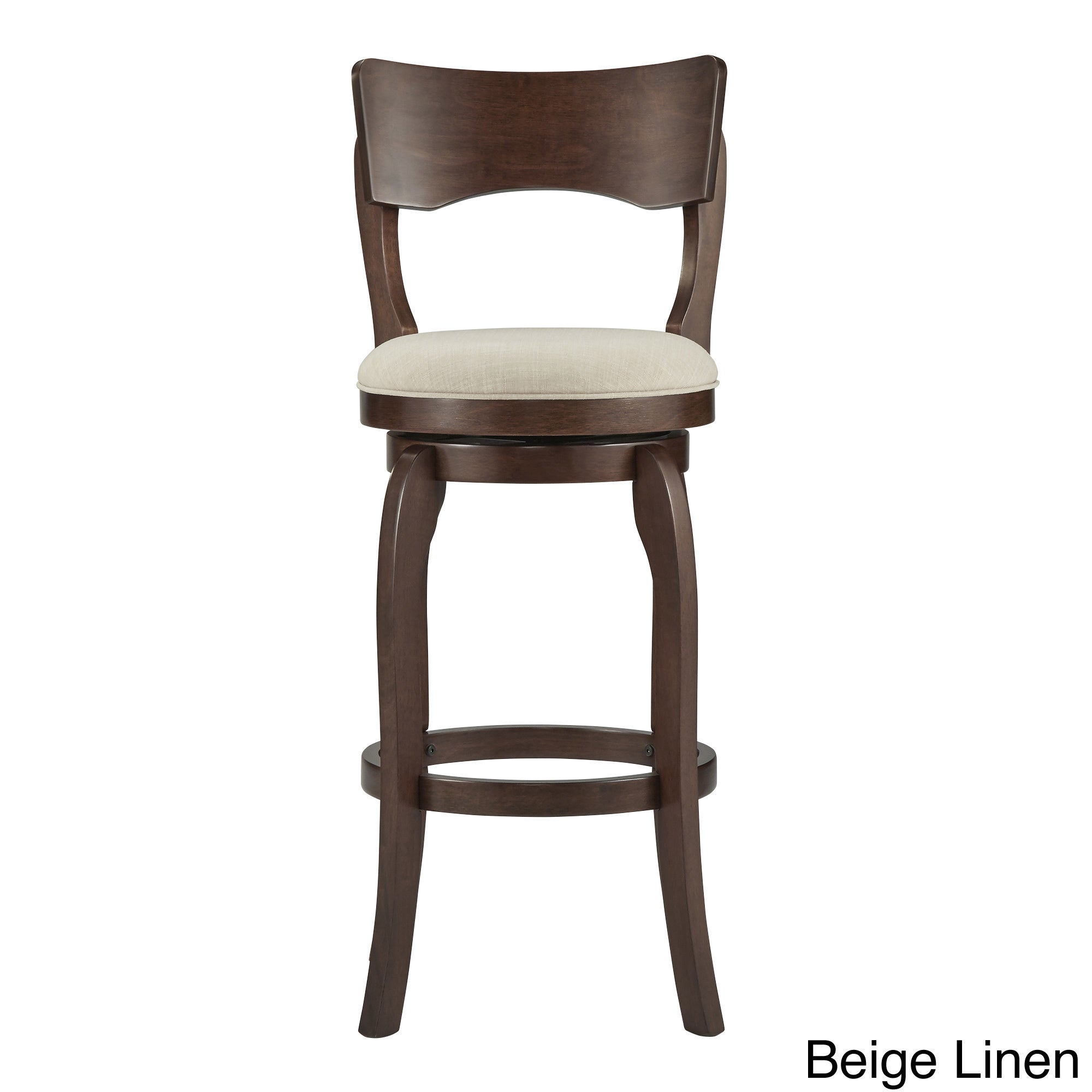 Awesome Details About Lyla Swivel 29 Inch Brown High Back Bar Height Barstool By Dailytribune Chair Design For Home Dailytribuneorg